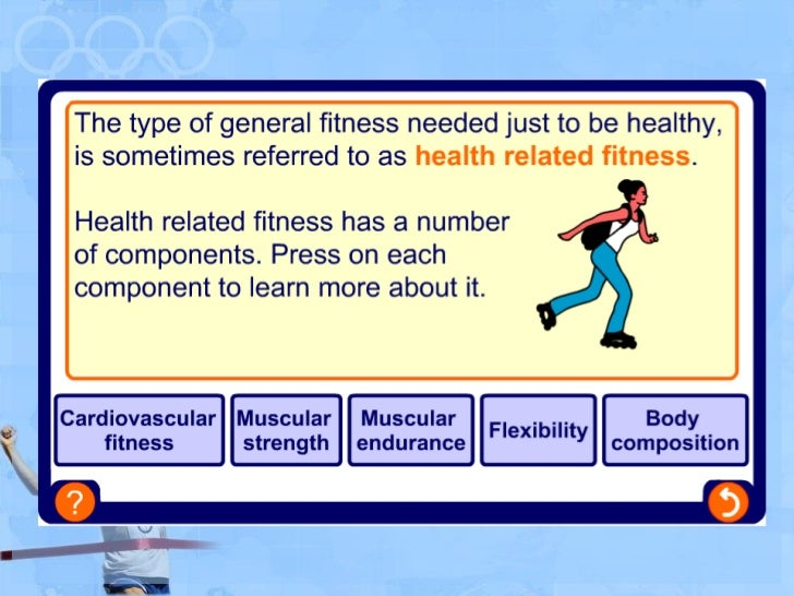 Differences Between Health And Skill Related Components Of Fitness