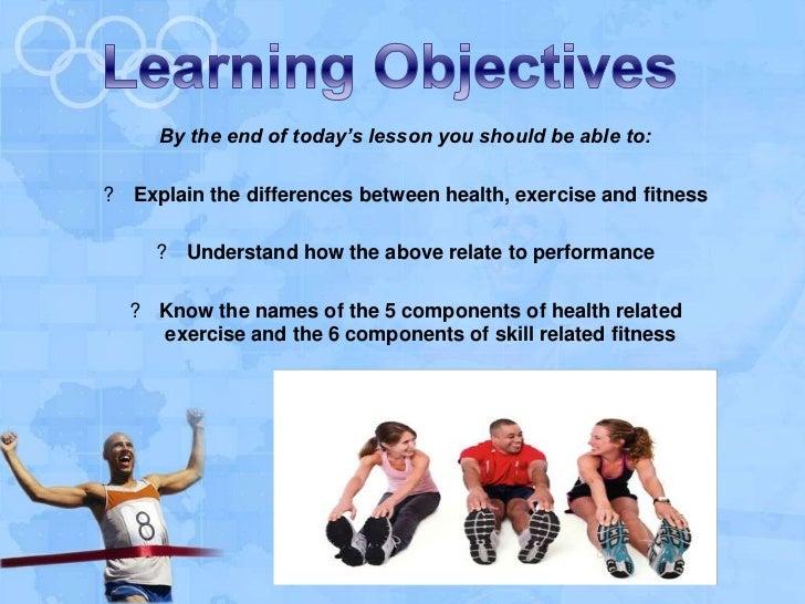 1.1.3 Lesson 1 - Health, exercise, fitness + performance Slide 2