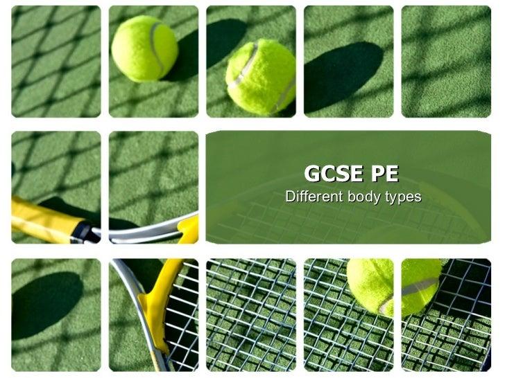 GCSE PE Different body types