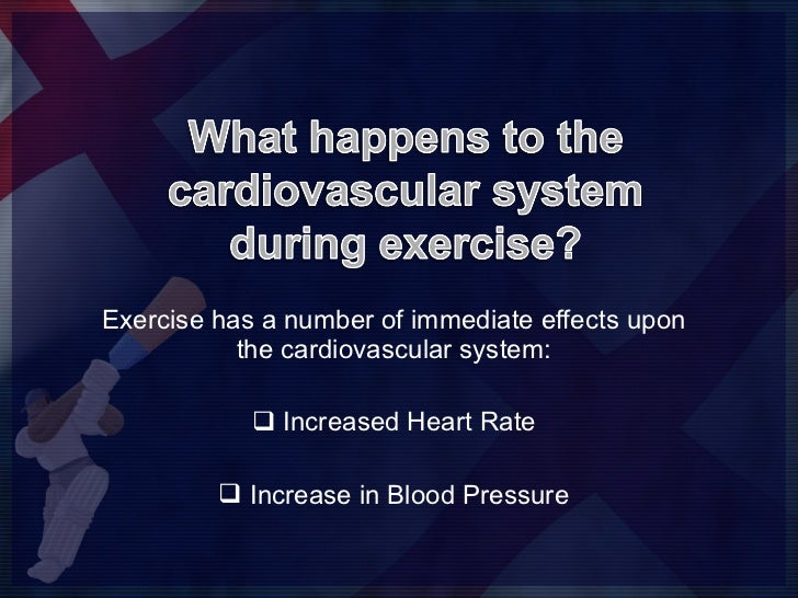 1.2.2 Lesson 1 - immediate effects on the cv system Slide 2