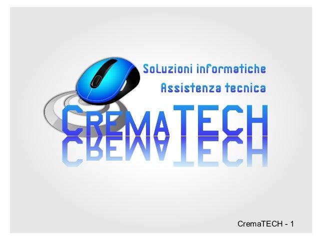 CremaTECH - 1