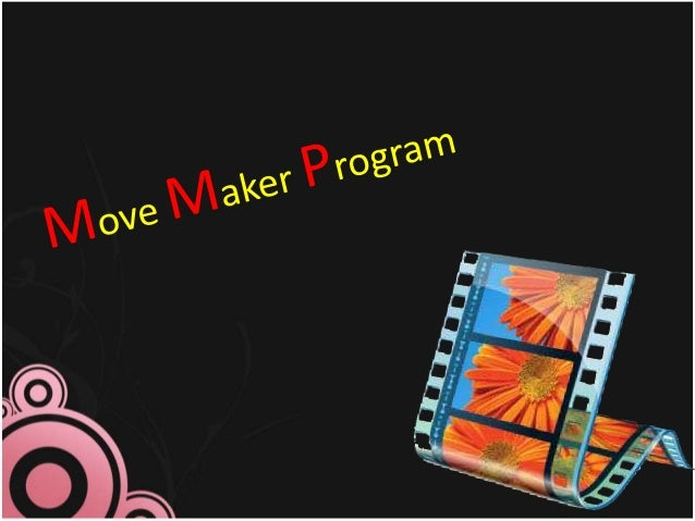 """ObjectiveAt the end of the lesson expect from you to be able to:1- Locate the main components in the """"Movie Maker""""software..."""