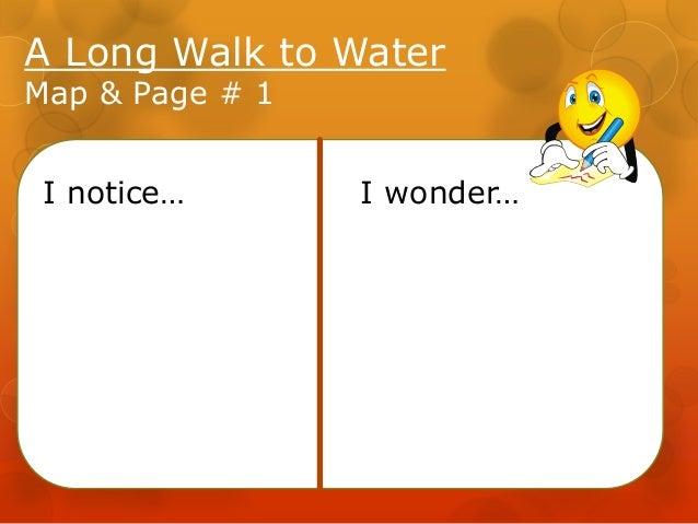 A Long Walk to Water - Lssn 1