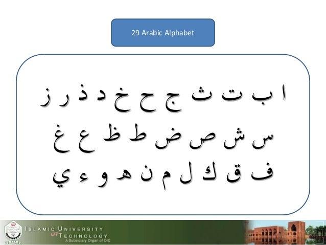 7f513b72d8c70 Arabic alphabet and their shapes