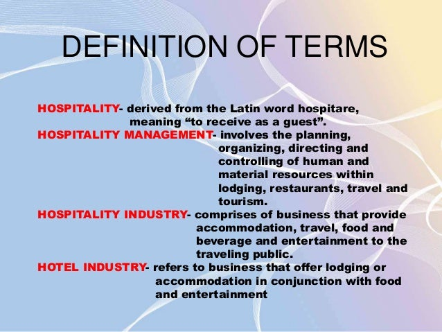 the hospitality industry different in other industries tourism essay Overview of the hospitality and tourism industry essay  from other countries, but usa  of the food and beverage departments of different hospitality industries.