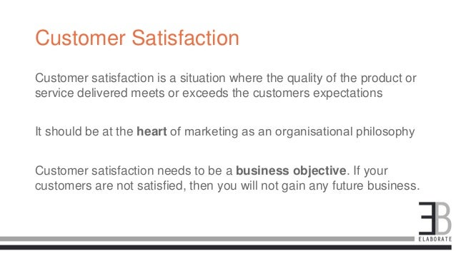 q 1 marketing involves satisfaction of consumer needs' Chapter 1 marketing: connecting with customers  customer satisfaction measurement program  it involves assessing consumer needs and developing products or.