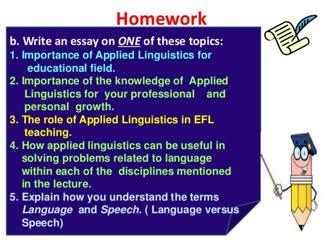 linguistics and language essay Advertisements: here is your essay on linguistic diversity in india  india has become a land of many tongues and has been called as a tower of veritable languages or a museum of languages.
