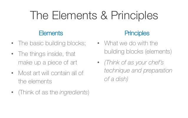 Basic Elements And Principles Of Art : Design elements and principles crowdbuild for