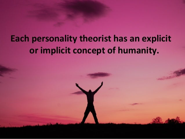 introduction to personality Dr chris grace discusses human personality he explains how it is defined and studied by psychologists and some of the tools psychologists use to measure it.