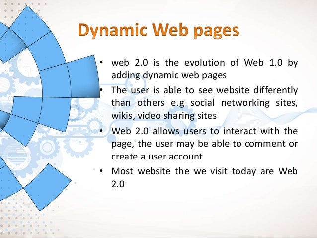 5. Mass Participation- diverse information sharing through universal web access. Web 2.0's content is based on people from...