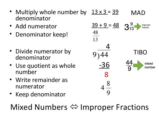Lesson 1 operations with fractions part 1 (notes)