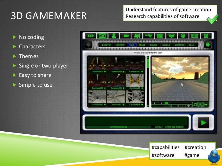 Unit 216 - Lesson 1 - Game Software