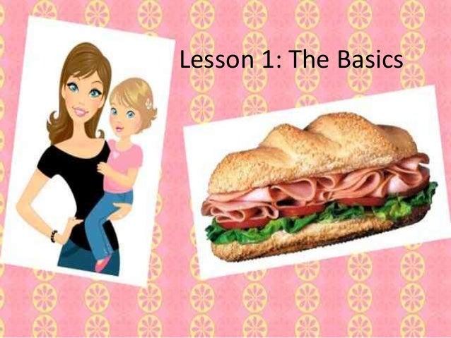 Lesson 1: The Basics
