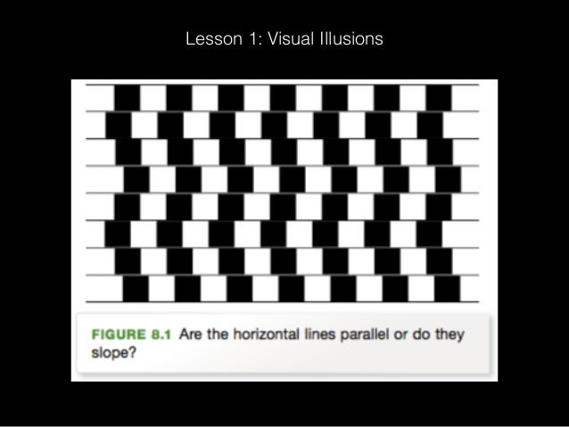 Lesson 1: Visual Illusions