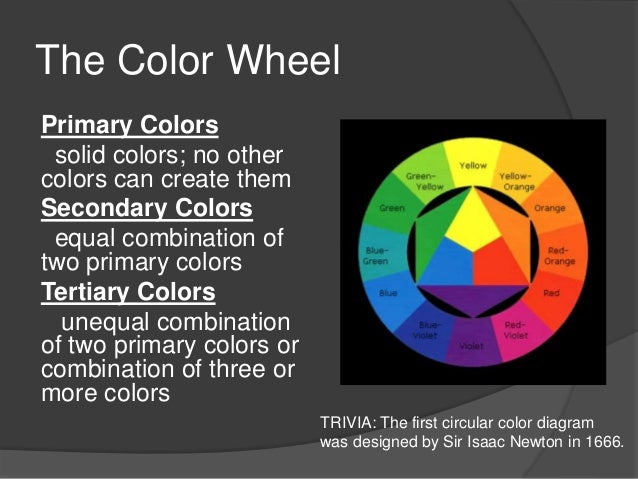 The Color Wheel ...