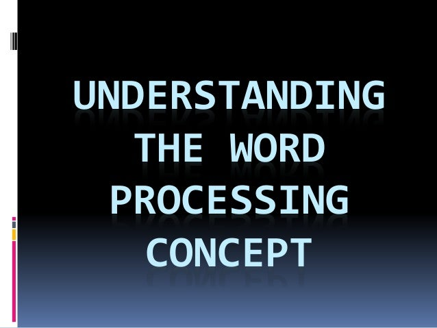 explain details about word processing To be able to store information in digital form meant authors could extensively   microsoft word has dominated the word processing world since the mid-1990s.