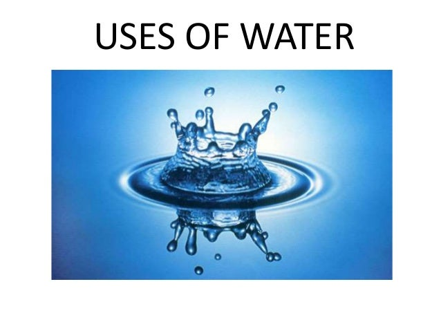 the ten main uses of water Potable water comprises only a small fraction of the total use of water in the  united states, with the main uses of freshwater resources being.