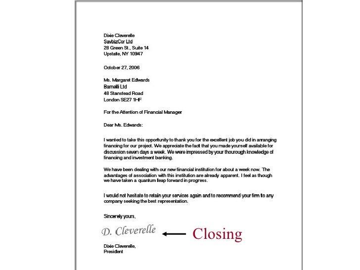 Closing For Business Letter from image.slidesharecdn.com