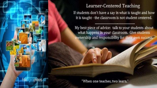 information technology in support of student centered learning pdf