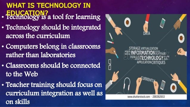 Integrated information technology to student learning