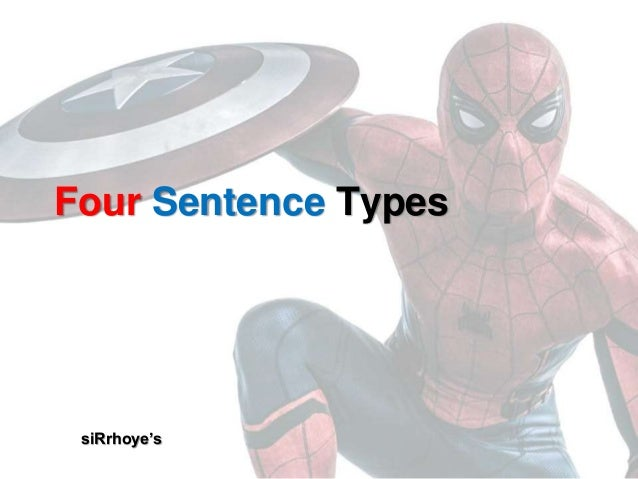 Four Sentence Types siRrhoye's