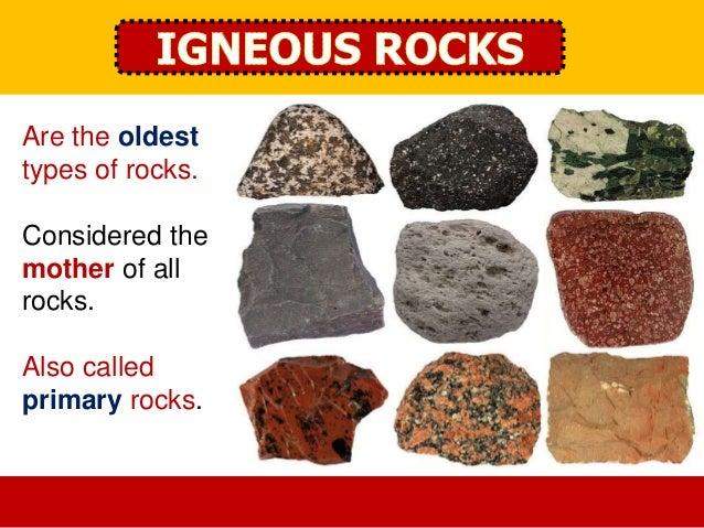 Lesson 13: Rocks