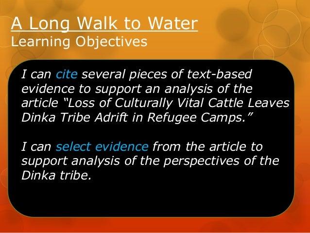A Long Walk to Water - Lssn 14 Slide 2