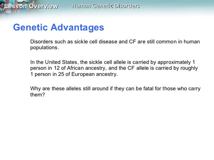 Lesson 142 – Genetic Disorders Worksheet