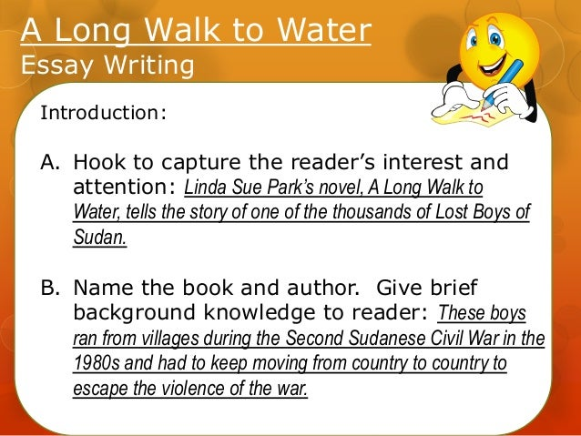 Essay on the book a long walk to water
