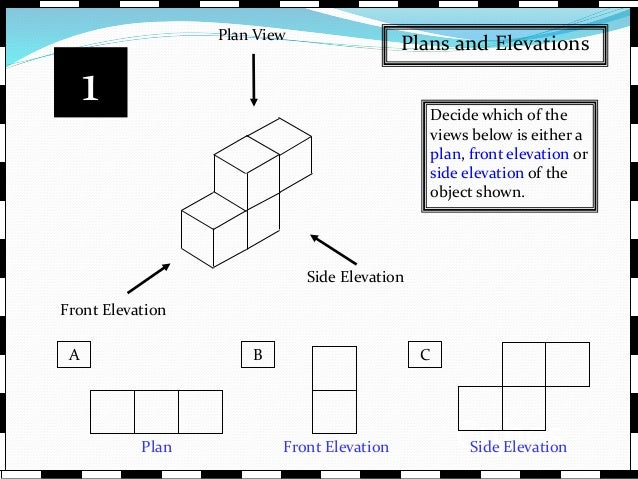 Plan Elevation Of A Cuboid : Plans elevations and nets