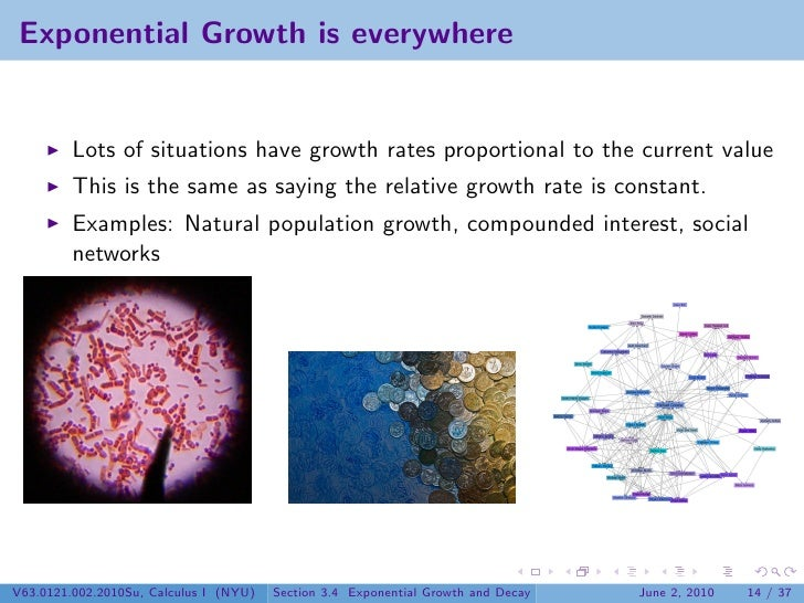 Lesson 15: Exponential Growth and Decay