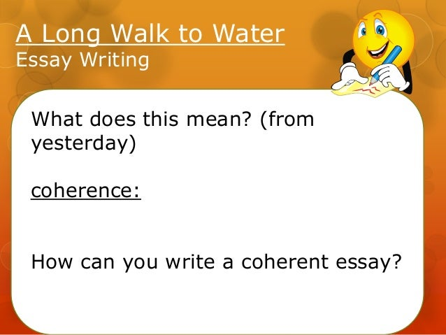 The color of water essays