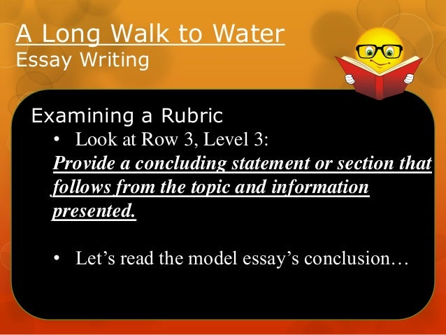 theme essay of long walk to water essay A long walk to water policies  highlighting essay scavenger hunt frankfort-schuyler junior/senior high school • ,.