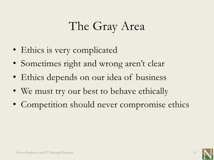 Morals or Ethics in the Workplace