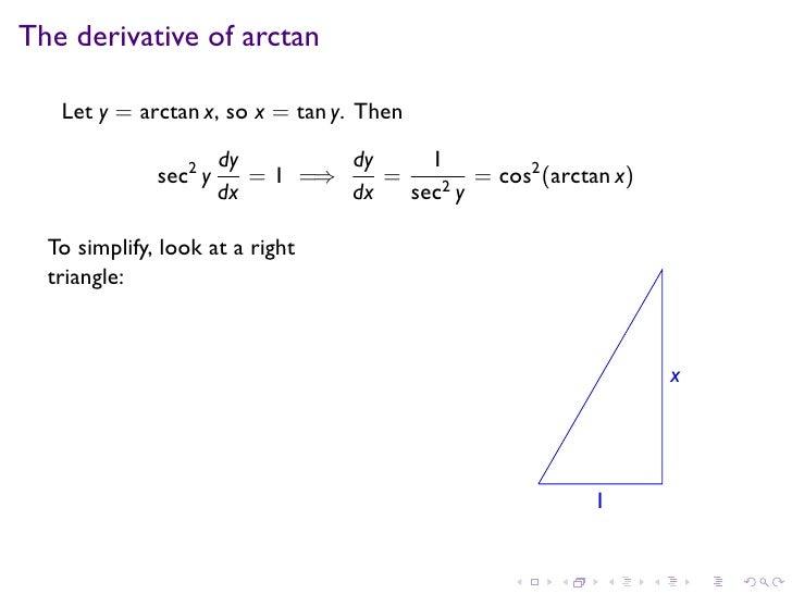 Lesson 17: Inverse Trigonometric Functions