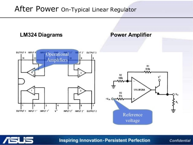 After Power On-Typical Linear Regulator LM324 Diagrams Power Amplifier Operational Amplifiers Reference voltage