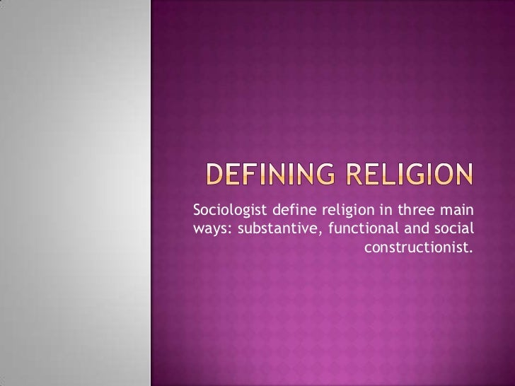 Define social constructionist