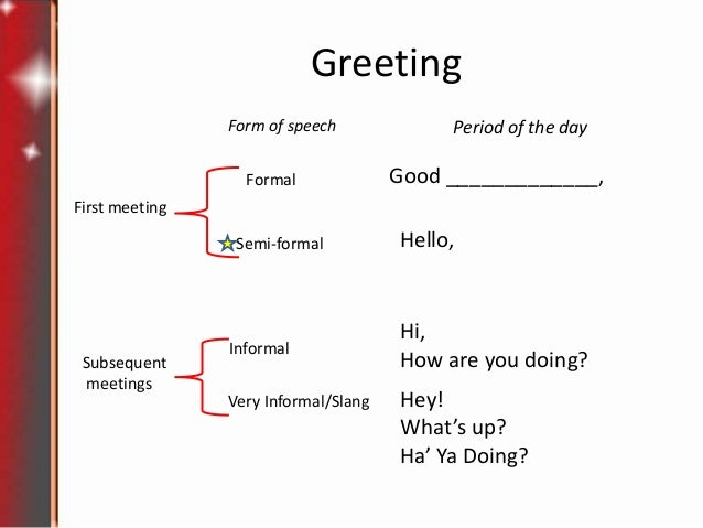 Lesson1 greetings and introductions greeting form of speech m4hsunfo