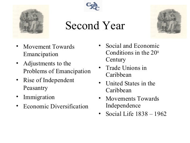 history sba adjustment to emancipation The post-emancipation societies which had to adjust to having a majority of new citizens who could not be emancipation of the slaves provided the.