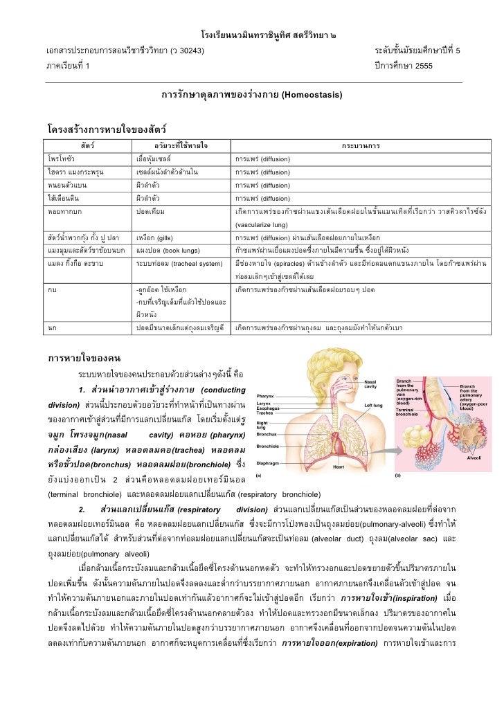 โรงเรียนนวมินทราชินูทิศ สตรีวิทยา ๒เอกสารประกอบการสอนวิชาชีววิทยา (ว 30243)                                               ...