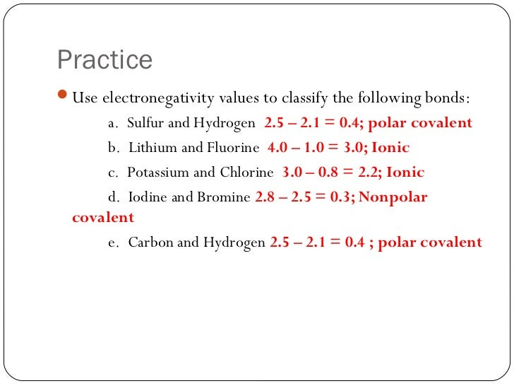 Lesson 1 Intro to Chemical Bonding – Covalent Bond Practice Worksheet