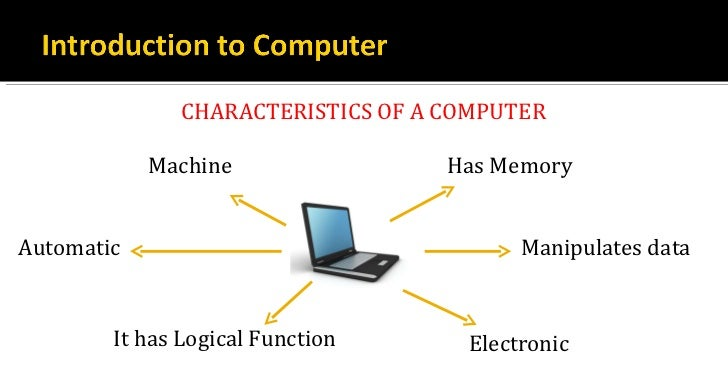 an introduction and a comparison of the human brain and the computer Computer vs human memory  i'm studying cognitive psychology right now and it helps immensely to compare the human brain with a computer  introduction to .