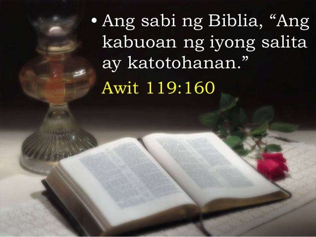 ang dating biblia 1905 paunang salita