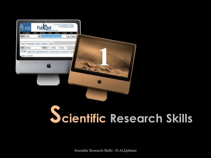 Lesson1#Scientific Research Skills