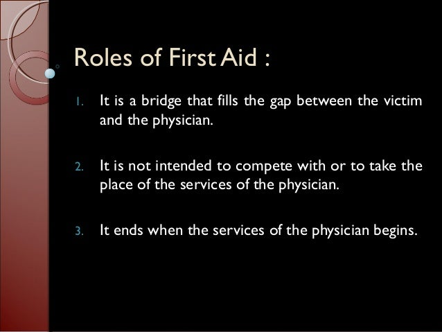 Lesson 1 (the basics of first aid) lesson 2 (survey of the scene and the victims) Slide 3