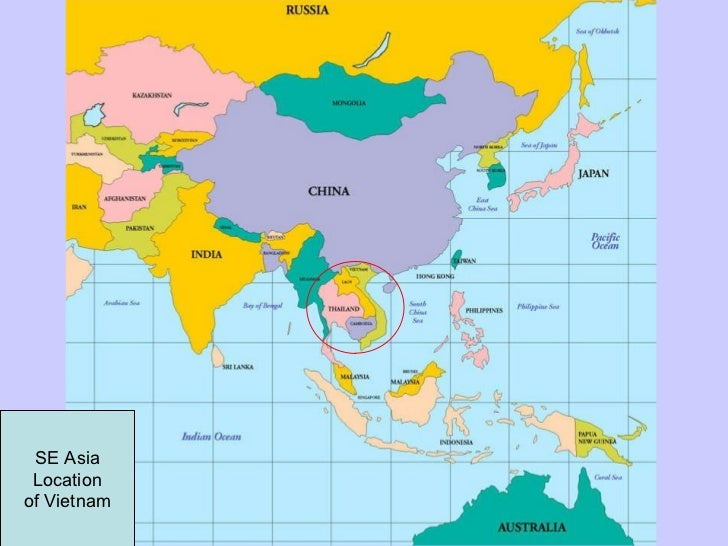 Map Of Asia During Vietnam War.Lesson 1 The Vietnam War Background