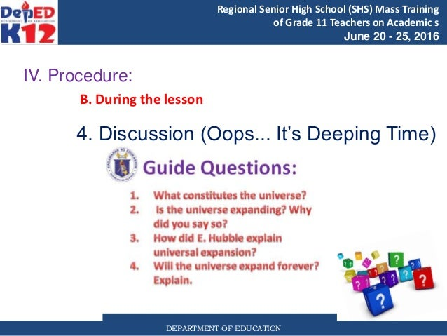 grade 11 earth life science lesson 1
