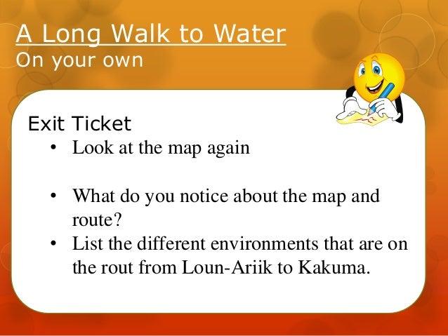 A Long Walk to Water - Lssn2