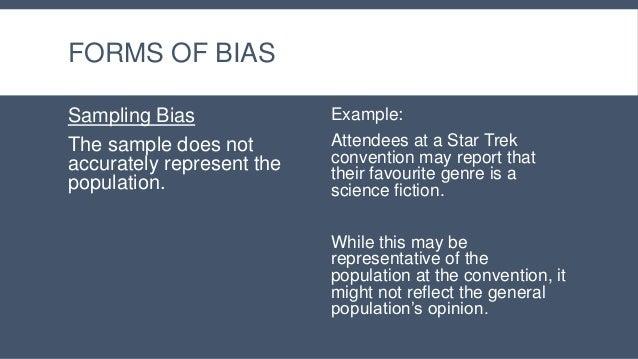 Lesson 3 - Bias