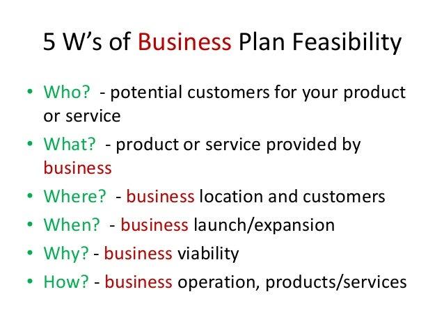 Partner Business Plans: Key Elements